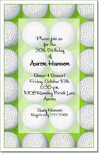 Score Golf Party Invitations from TheInvitationShop.com