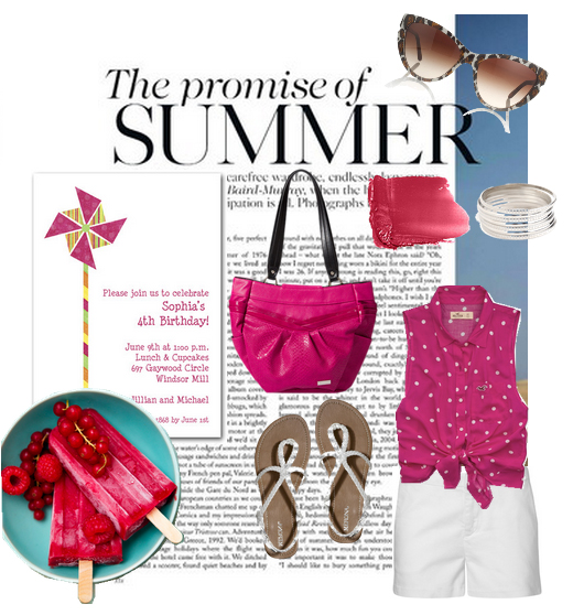 The promise of summer: Great invitations to fabulous parties