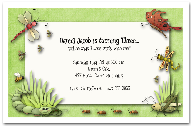 Shop Kids Birthday Party Invitations from TheInvitationShop.com