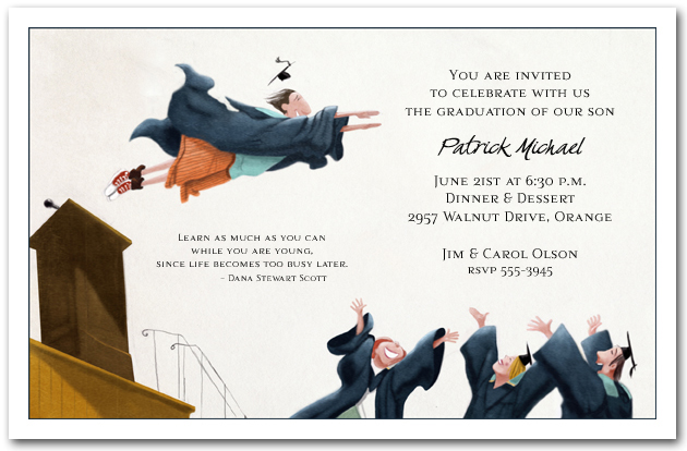 Graduation Invitations – Invitation to Graduation Party