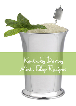 Kentucky Derby Mint Julep Recipes from TheInvitationShop.com