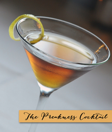 The Preakness Cocktail Recipe from TheInvitationShop.com