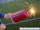4th of July Sparkler Shield