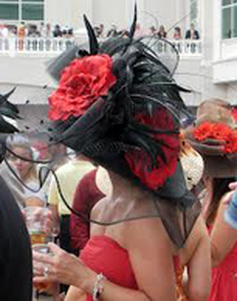 Kentucky Derby Hat ~ Kentucky Derby Party Invitations from TheInvitationShop.com