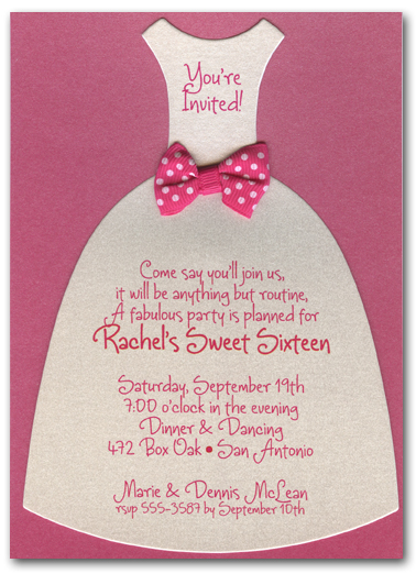 Hot Pink And Black Wedding Invitations is perfect invitations template