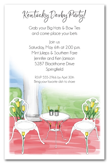 Julep Time Kentucky Derby Party Invitations - come see the entire collection!