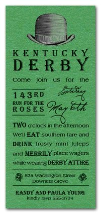 Kentucky Derby Party Checklist and Ideas The Invitation Shop