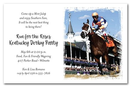 What are the Odds Kentucky Derby Party Invitations from TheInvitationShop.com