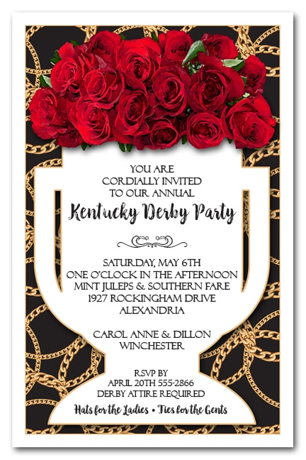 Derby Invitations justsingit – Derby Party Invitations