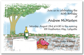 Party on the Patio Invitations from TheInvitationShop.com