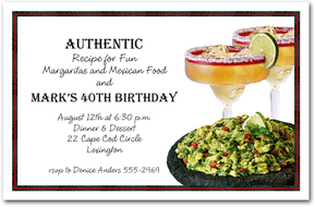 Margarita Party Invitations from TheInvitationShop.com