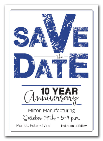 Business Save the Date Cards - Use for any event you want guests to mark their calendars to attend! LOTS OF COLORS AVAILABLE!
